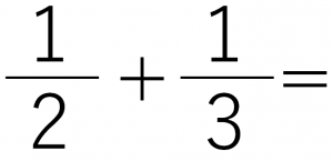 1/2+1/3=