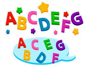 A~Gまでのアルファベット