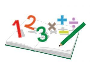 数字と四則計算の記号