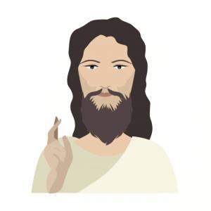 イエス=キリストのイラスト
