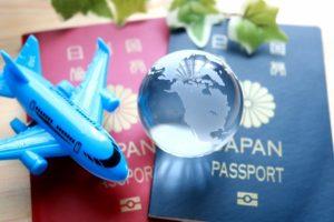 旅行で出国するために必要なパスポートの写真