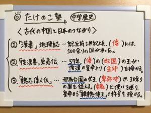 弥生時代の日本と古代中国のつながりについての問題の解答