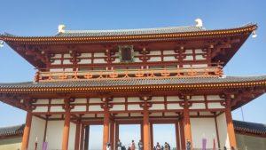 平安京・朱雀門の写真