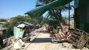 東南アジアのスラムの様子を撮った写真