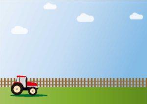 アメリカの農場をイメージさせるイラスト