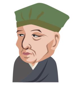 松尾芭蕉のイラスト
