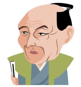 伊能忠敬のイラスト