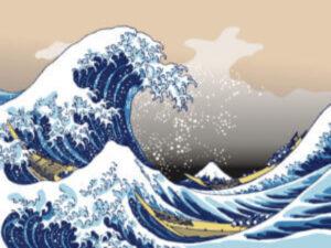 富嶽三十六景のイラスト